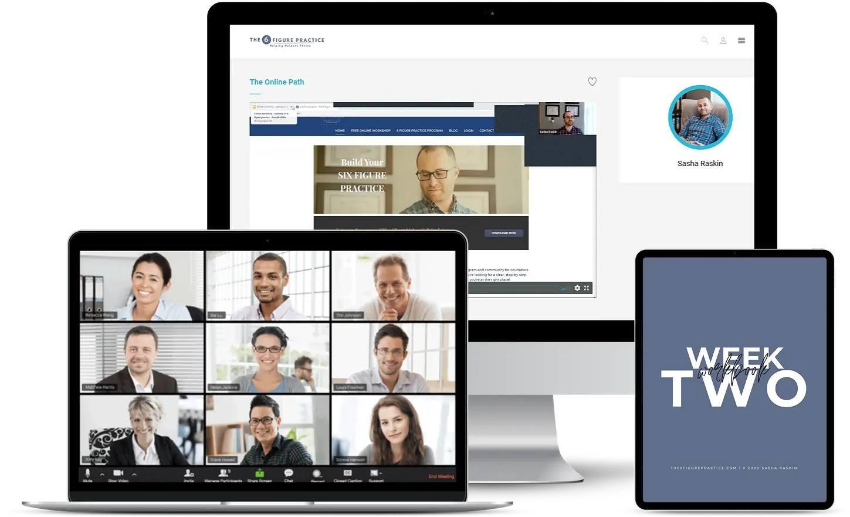the 6 figure practice coach marketing advertisement private practice counseling marketing for therapists